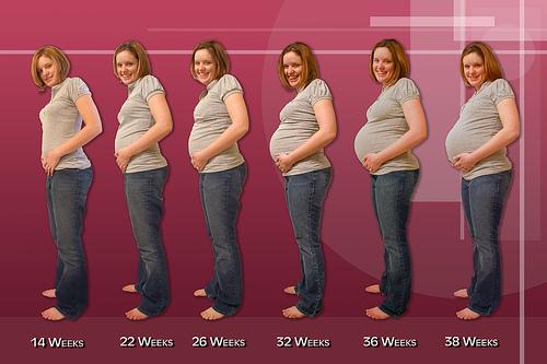 Εγκυμοσύνη - Οι αλλαγές στο σώμα μας