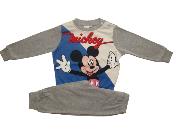 DISNEY ΣΕΤ ΠΙΤΖΑΜΑ MICKEY MOUSE – γκρι 24766