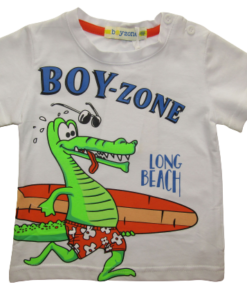 BOY ZONE ΜΠΛΟΥΖΑ 1224 - λευκό