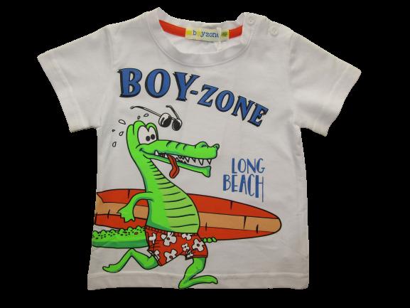 BOY ZONE ΜΠΛΟΥΖΑ 1224 – λευκό 25961