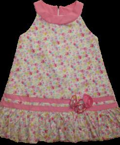 CUTE TRENDY ΦΟΡΕΜΑ FLORAL 0616 - ροζ